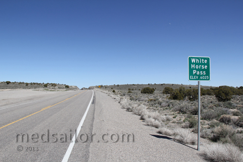 Another summit US Hwy 6, Nevada Basin and Range loneliest Hwy in USA