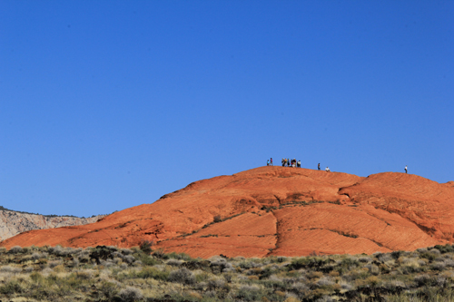 Snow Canyon State Park March 2013 near St George UT USA