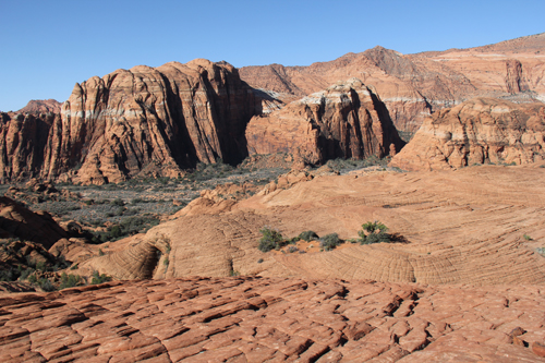 Snow Canyon State Park March 2013 near St George UT USA Petrified Sand Dunes Trail