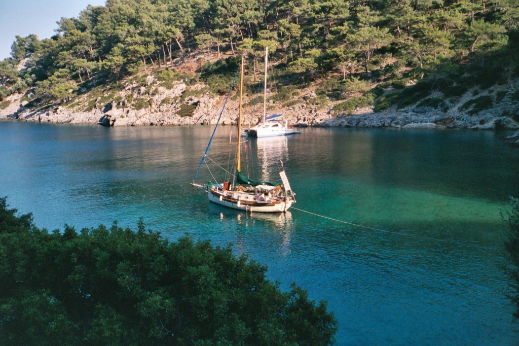 See Dream at anchor in Turkey near Gocek